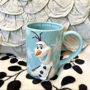 Disneyland Paris Olaf Frozen Authentic Disney Mug